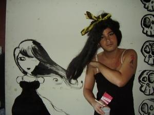 Venha fazer a maquiagem da Amy Winehouse no MnV 2009!
